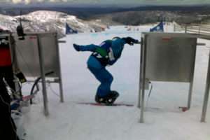 Snowboading at Mt Hotham